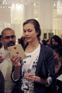 Karlie Kloss @ Bergdorf's
